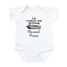 Monorail Purple Infant Bodysuit