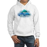 Jumping dolphins Hoodie Sweatshirt