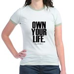 Own Your Life Jr. Ringer T-Shirt