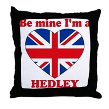 Hedley, Valentine's Day Throw Pillow