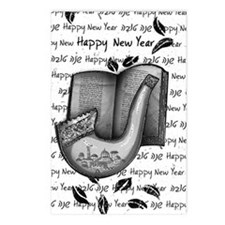 Shofar On Rosh HaShanah Postcards (Package of 8)