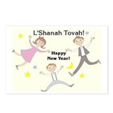 Rosh HaShanah: Joy Postcards (Package of 8)