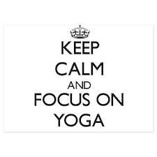 Keep Calm by focusing on Yoga Invitations