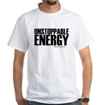 Unstoppable Energy White T-Shirt