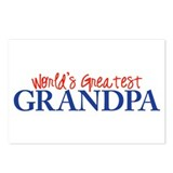 World's Greatest Grandpa II Postcards (Package of