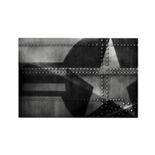 Rivet Star Rectangle Magnet (10 pack)