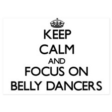 Keep Calm by focusing on Belly Dancers Invitations