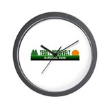 Teddy Roosevelt National Park Wall Clock