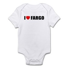 I Love Fargo Infant Bodysuit