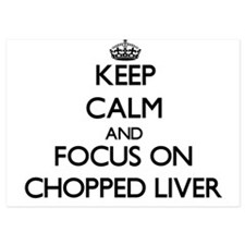 Keep Calm by focusing on Chopped Liver Invitations