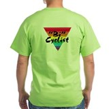 """Bi"" Cyclist ""Safety Green"" T-Shirt"