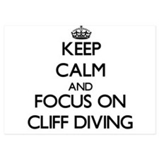 Keep Calm by focusing on Cliff Diving Invitations