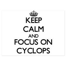 Keep Calm by focusing on Cyclops Invitations