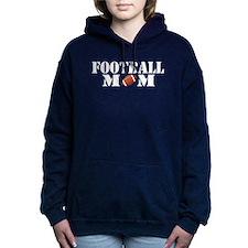Football Mom front #2 Women's Hooded Sweatshirt