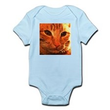 'Clyde the Ginger Cat' Infant Creeper