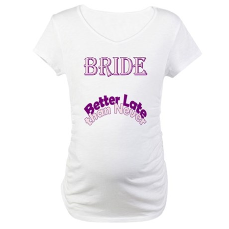 Pregnant Bride Maternity T-Shirt