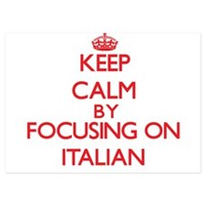 Keep Calm by focusing on Italian Invitations