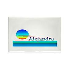Alejandro Rectangle Magnet