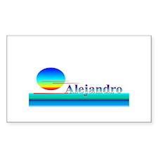 Alejandro Rectangle Decal