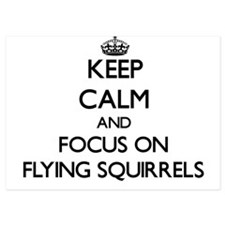 Keep Calm by focusing on Flying Squirr Invitations