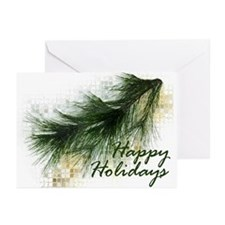 Pine Branch Christmas Cards (Pk of 10)