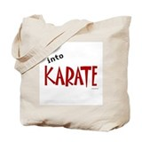Into Karate Tote Bag