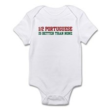 Half Portuguese Infant Bodysuit