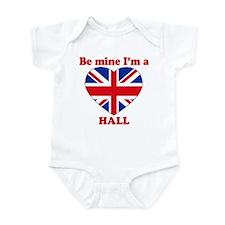 Hall, Valentine's Day Infant Bodysuit