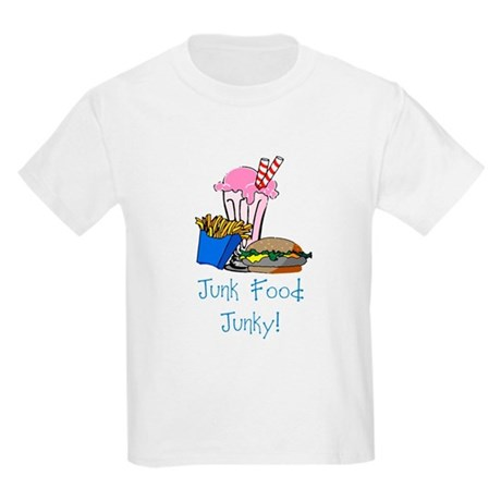 Junk Food Junky Kids Light T-Shirt