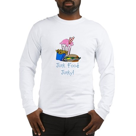 Junk Food Junky Long Sleeve T-Shirt