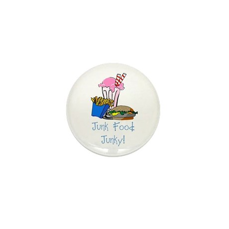 Junk Food Junky Mini Button (100 pack)
