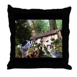 There Goes Bill! Throw Pillow