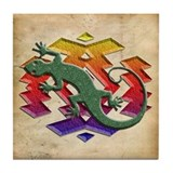 Gecko Southwest Tile Coaster