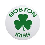 Boston Irish - Round Ornament