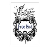 FREE BIRD Postcards (Package of 8)