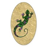 Ivy Green Gecko Decal