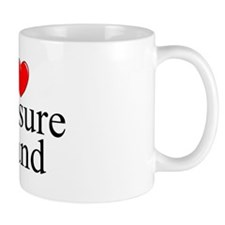 """I Love Treasure Island"" Mug"