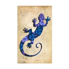 Blue Gecko Decal