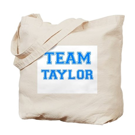 TEAM TAYLOR Tote Bag