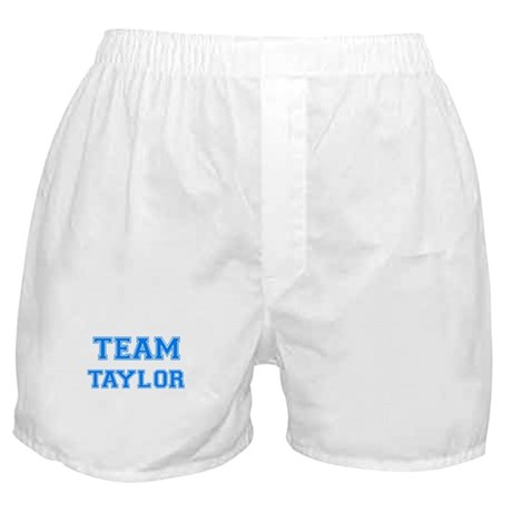 TEAM TAYLOR Boxer Shorts
