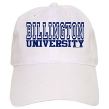 BILLINGTON University Baseball Cap