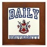 BAILY University Framed Tile