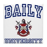 BAILY University Tile Coaster