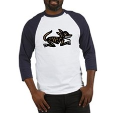 Tribal Dog Baseball Jersey