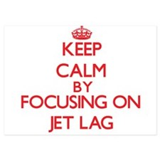 Keep Calm by focusing on Jet Lag Invitations