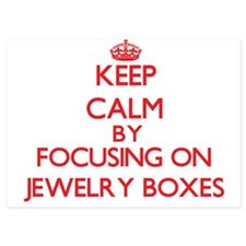 Keep Calm by focusing on Jewelry Boxes Invitations