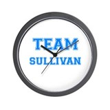TEAM SULLIVAN Wall Clock