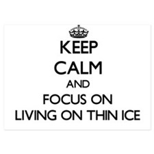 Keep Calm by focusing on Living On Thi Invitations