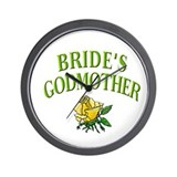 Bride's Godmother(rose) Wall Clock