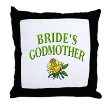 Bride's Godmother(rose) Throw Pillow